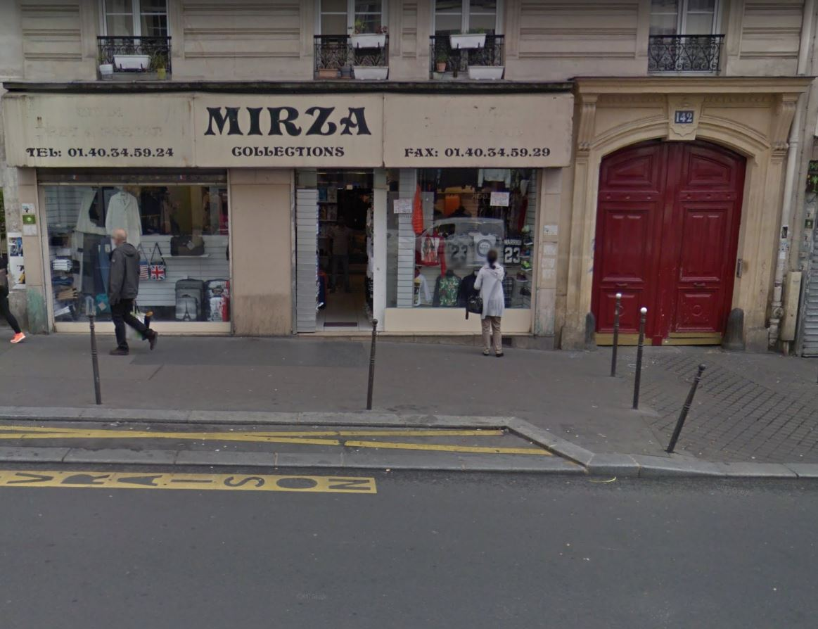 142 rue du faubourg saint Denis 75010 PARIS