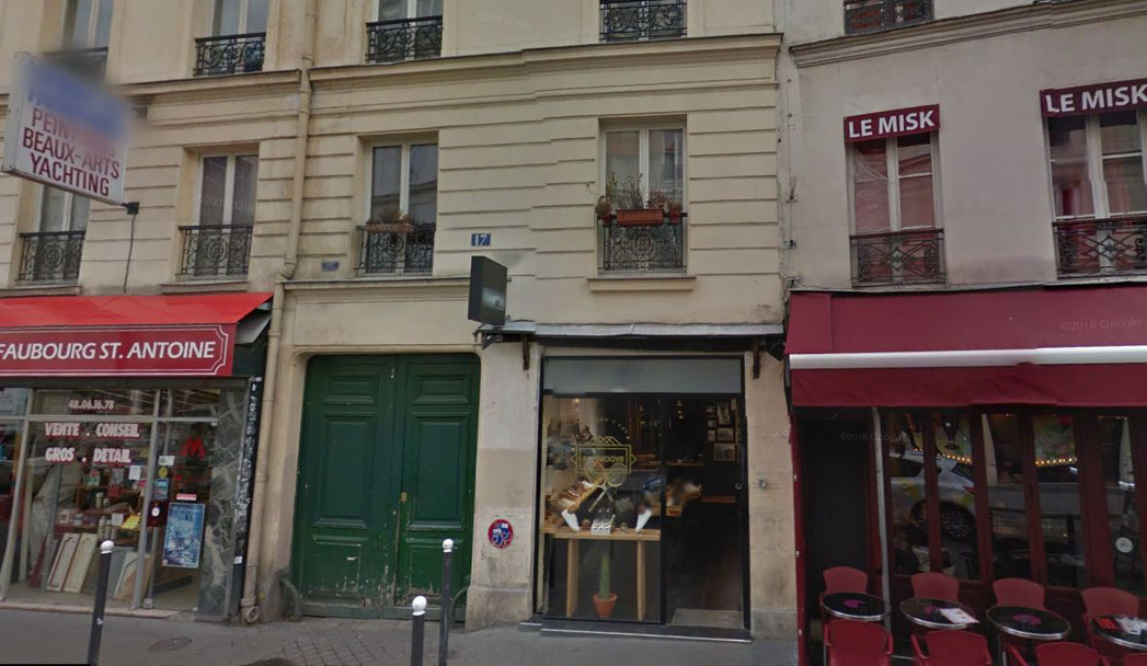 17 rue de Charonne 75011 PARIS