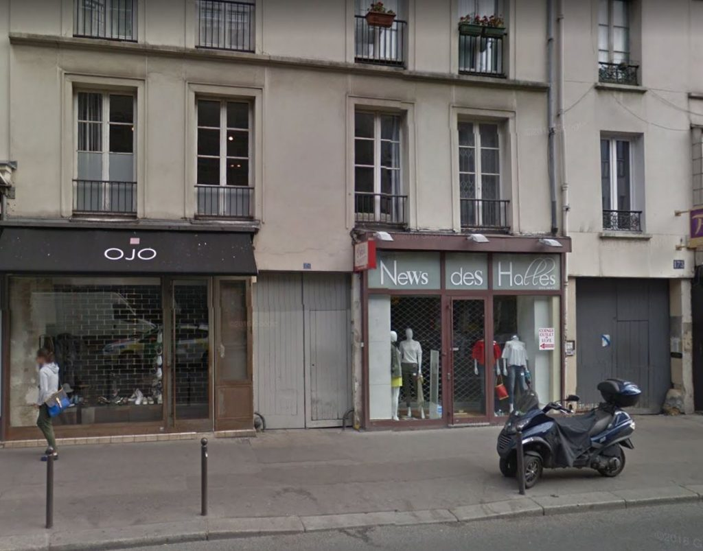 171 rue faubourg Saint Antoine 75011 PARIS
