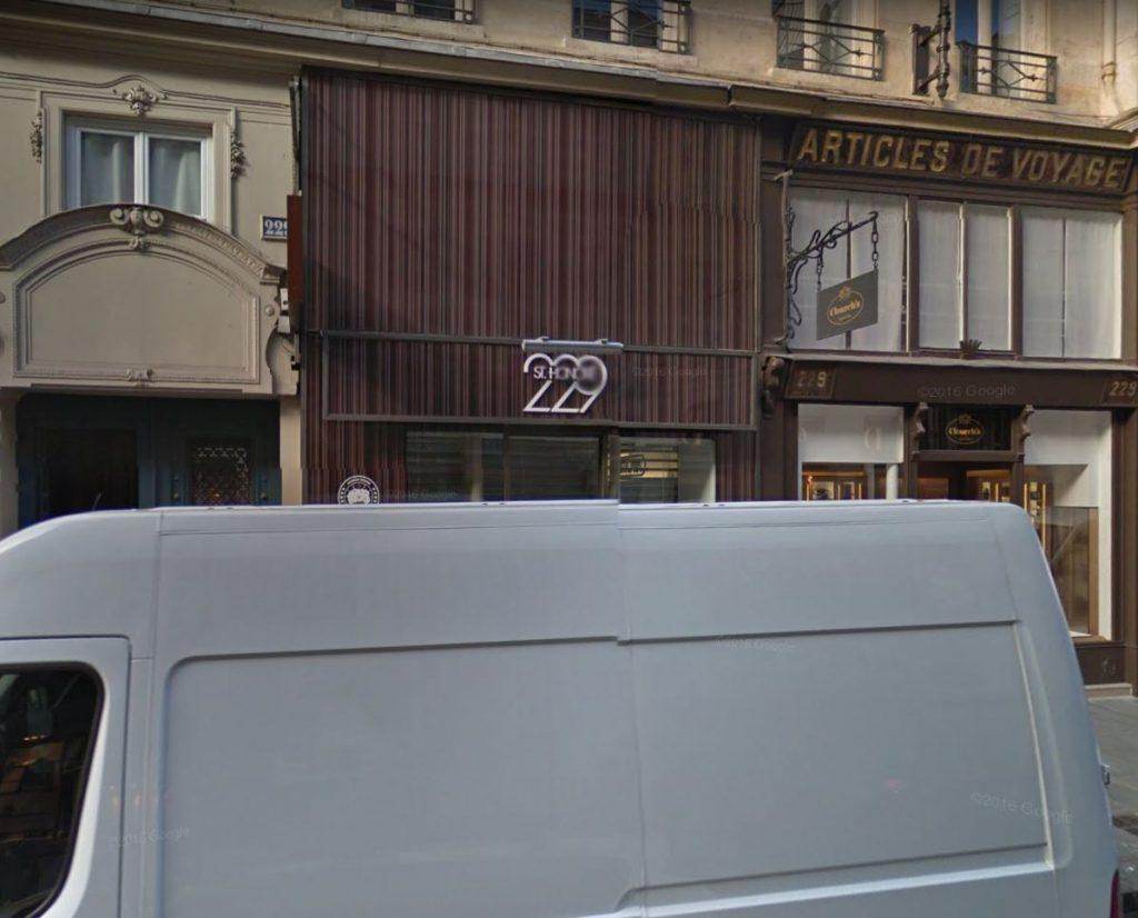 229 rue Saint Honoré 75001 PARIS