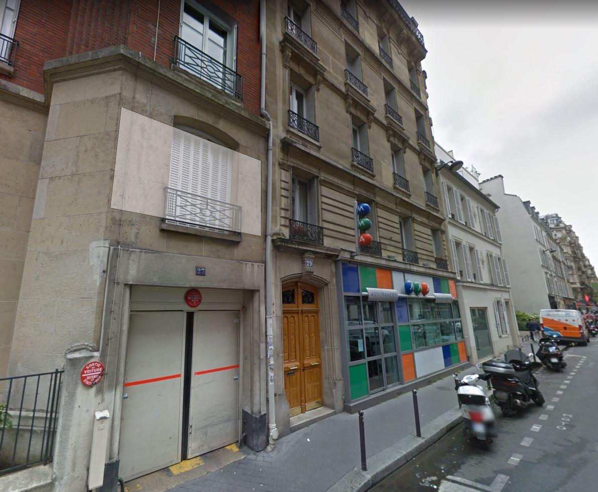 29 rue rennequin 75017 PARIS