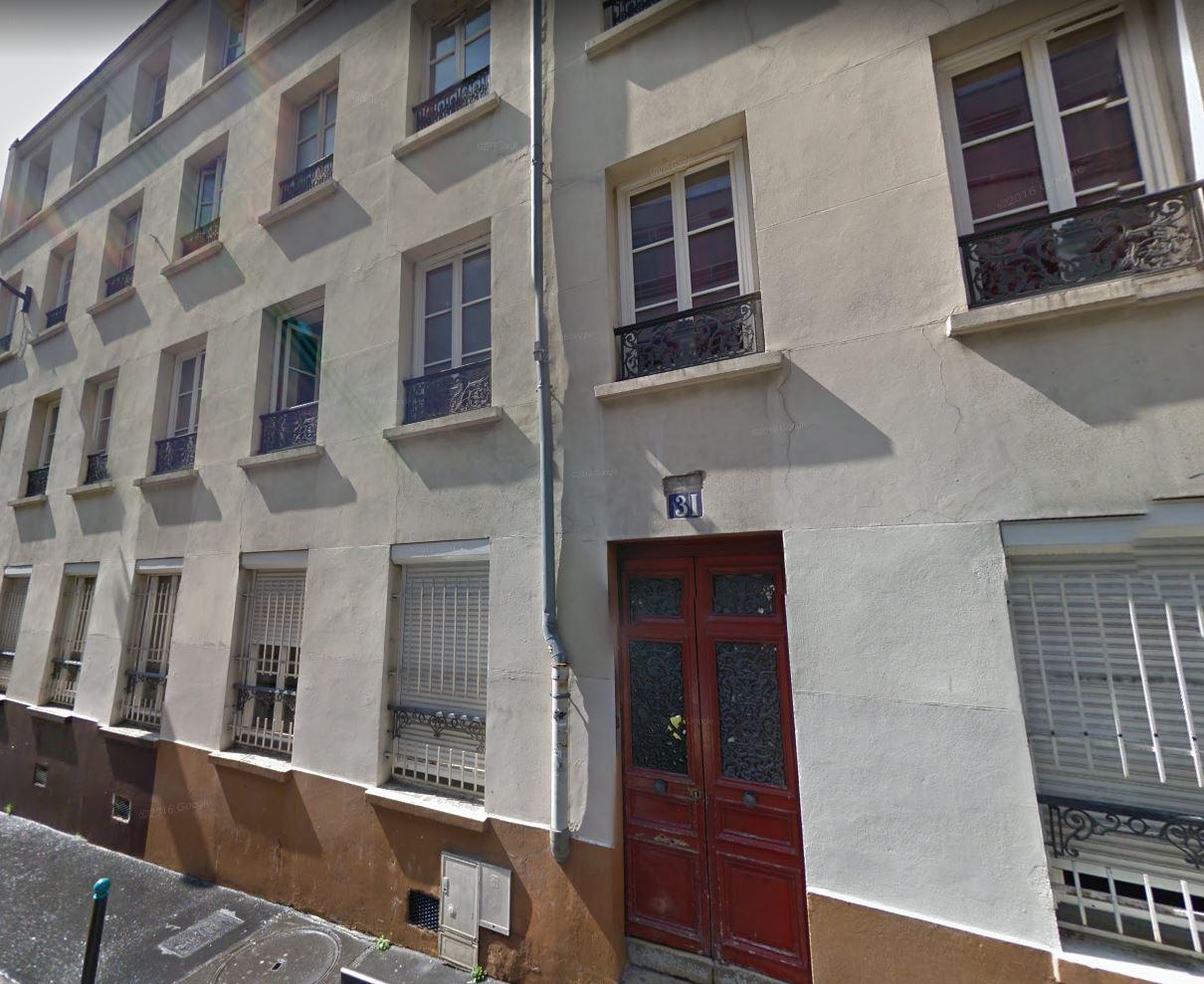 31 rue Levert Belleville 75020 PARIS