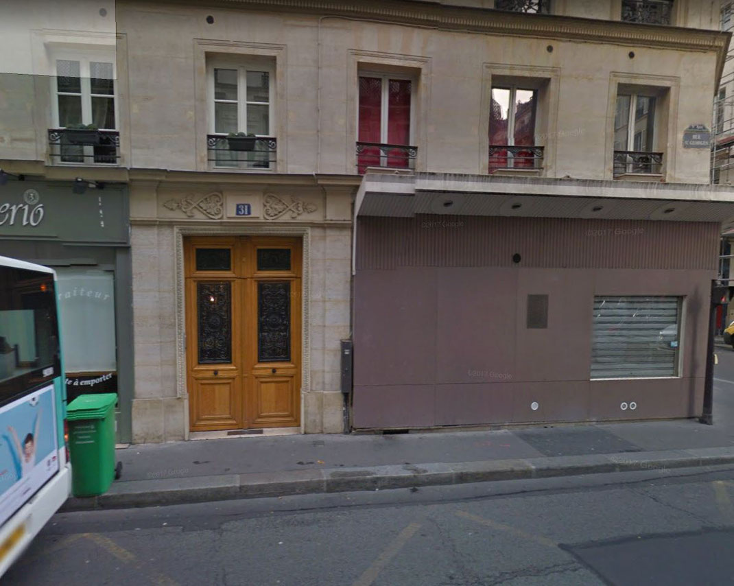 31, rue Saint Georges 75009 PARIS