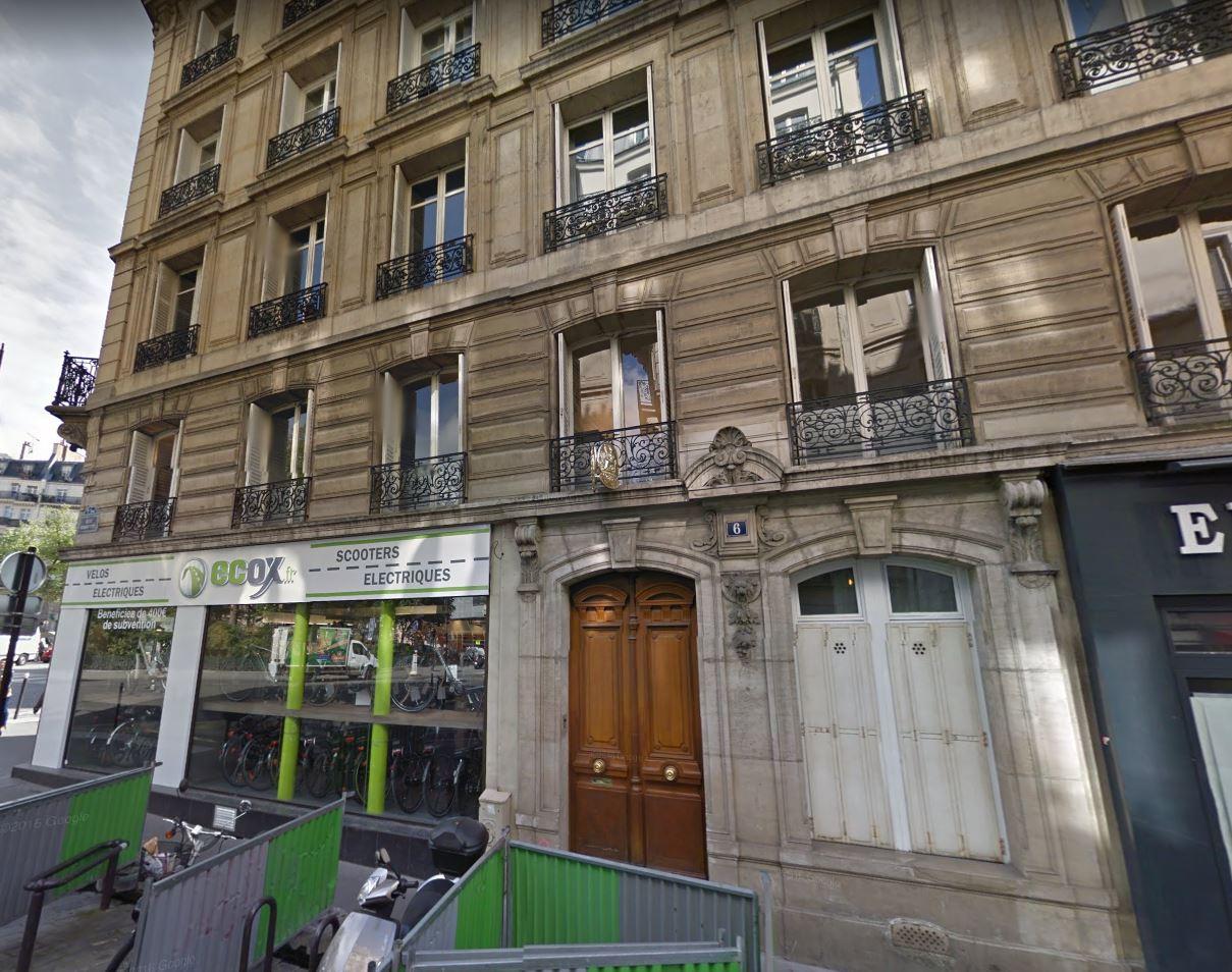 6 rue Ribouté 75009 PARIS