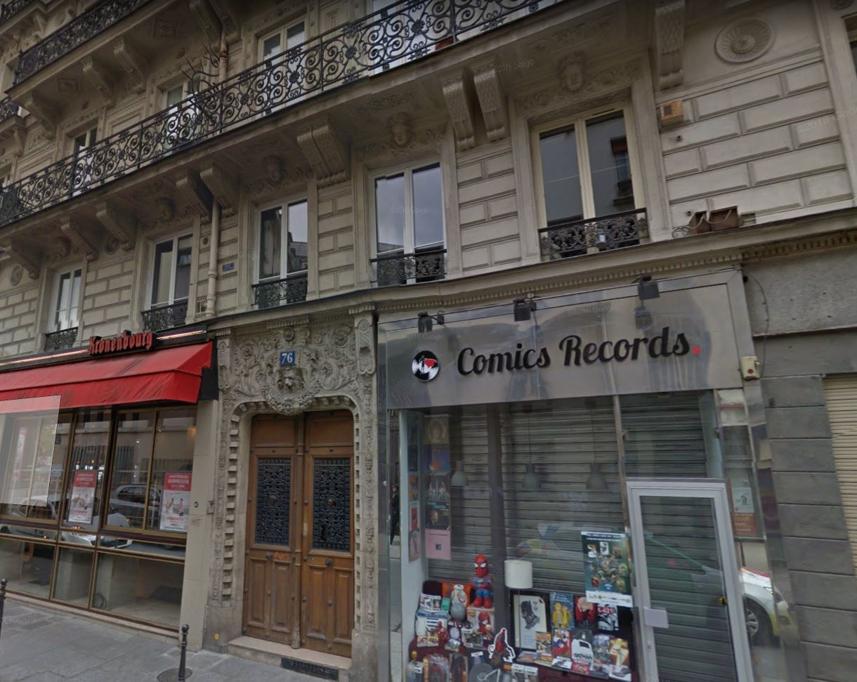76 rue Charlot 75003 PARIS