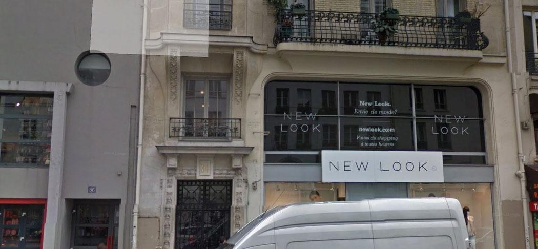 84 rue du faubourg Saint Antoine 75011 PARIS